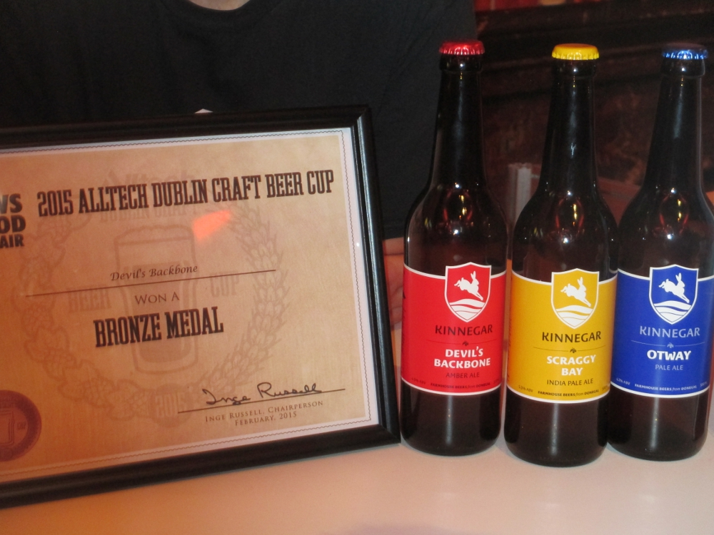 Kinnegar Brewing birre in bottiglia