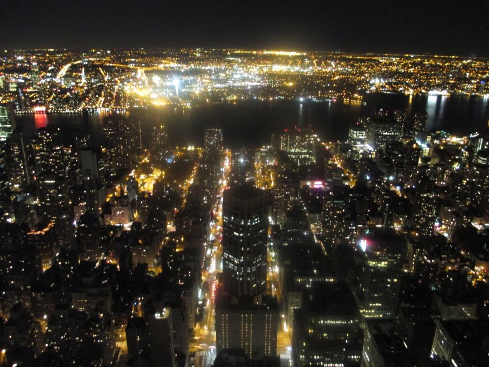 veduta di New York dall'Empire State Building