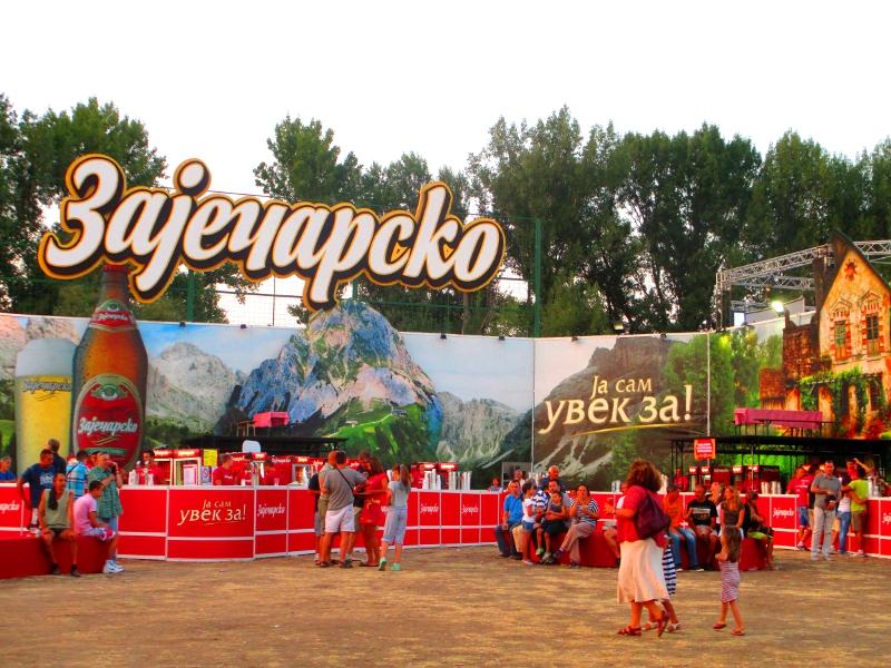 festival della birra a Belgrado