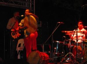 concerto al Kaz Out music festival, mauritius