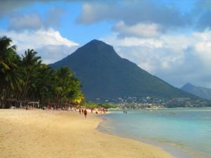 spiaggia di Flic en Flac, Mauritius