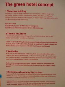 Tecnologie utilizzate al Meininger Hotel di Bruxelles per ridurre l'impatto ambientale