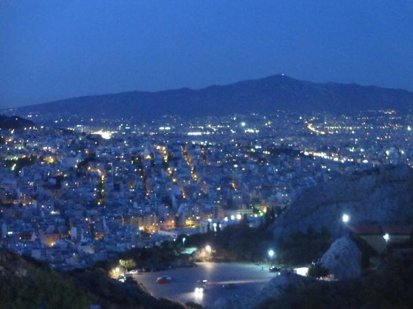luna piena ad Atene
