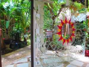 giardino dell'ostello Serenity Ecoguesthouse, Bali