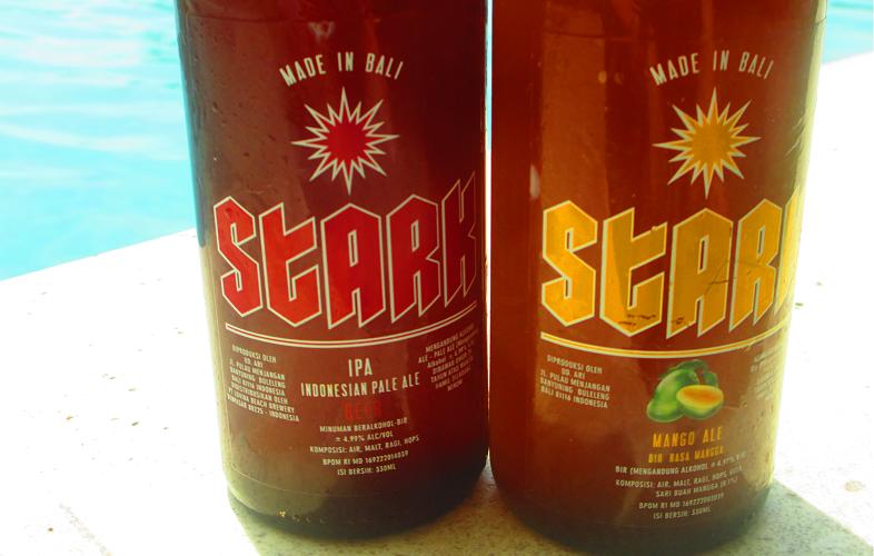 bottiglie di birra artigianale balinese Stark