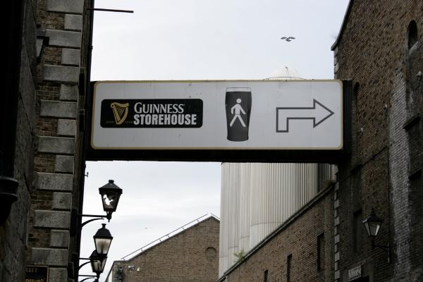 verso la Guinness Storehouse