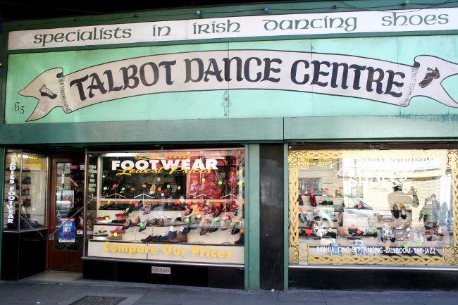 Talbot Dance Centre, negozio a Dublino