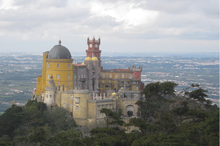 Palacio da Pena, castello a Sintra