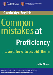 libro Common Mistakes at Proficiency... and How to Avoid Them
