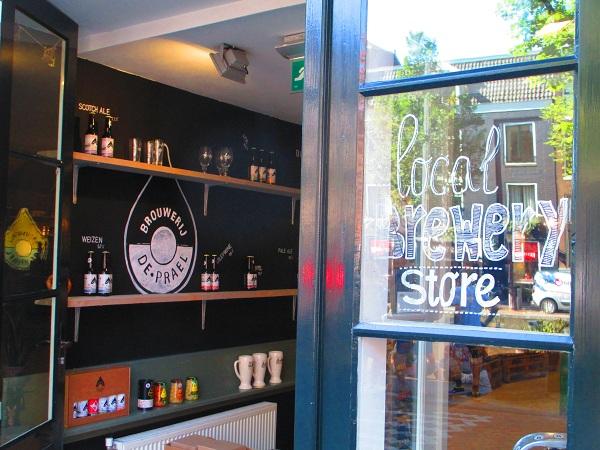 negozio del birrificio Prael, Amsterdam