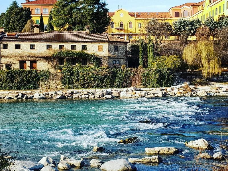 fiume a Bassano del Grappa