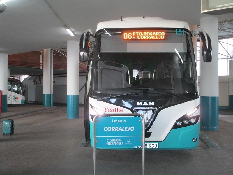 bus Corralejo Puerto del Rosario
