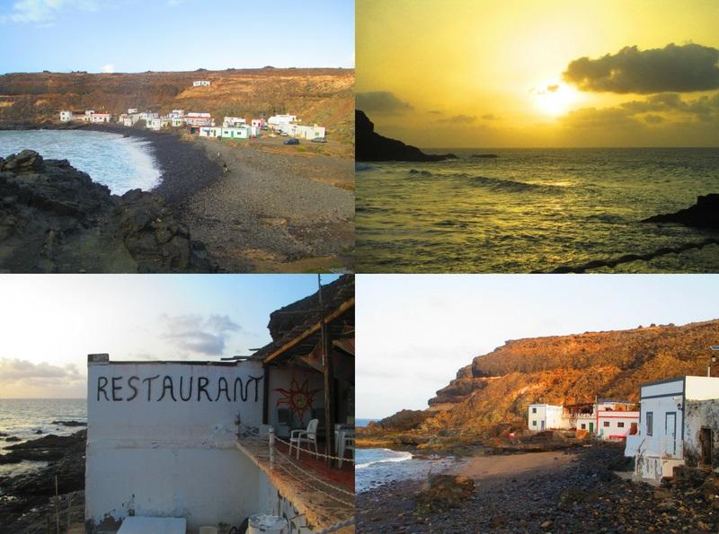 villaggio di pescatori a Fuerteventura