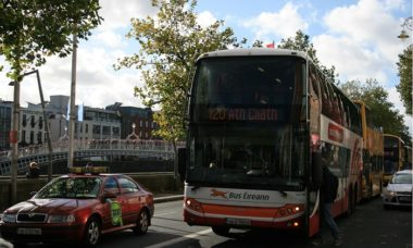 autobus Bus Eireann a Dublino