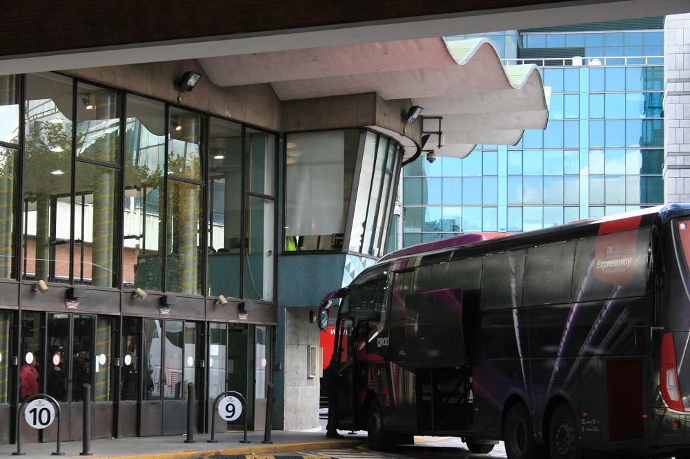 stazione degli autobus Busaras a Dublino