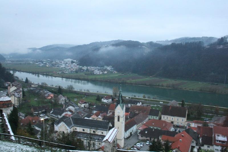 Sevnica, vista panoramica