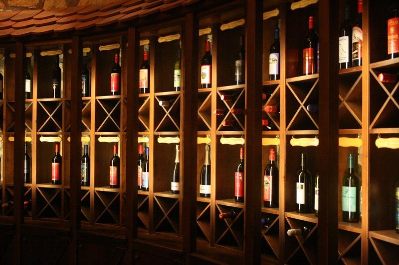 wine shop al Castello di Sevnica