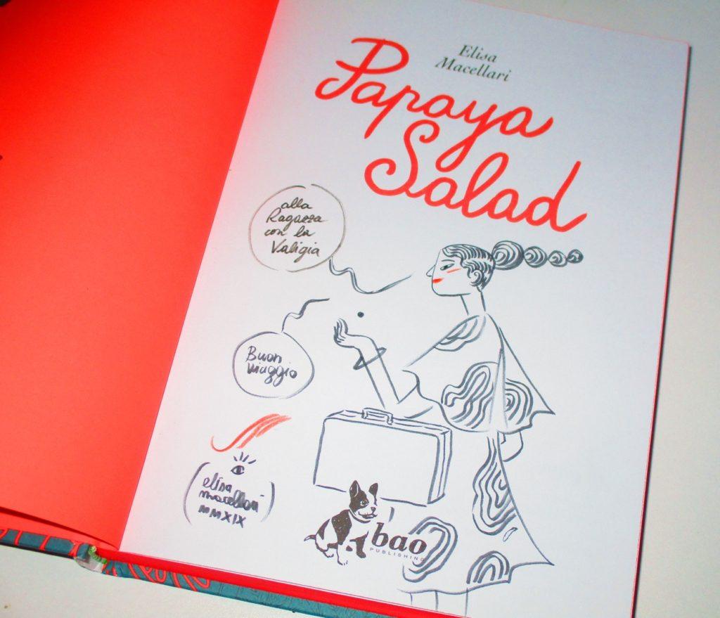 copia autografata di Papaya Salad