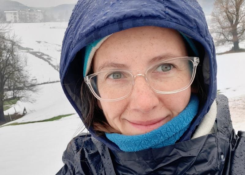 camminare con la neve