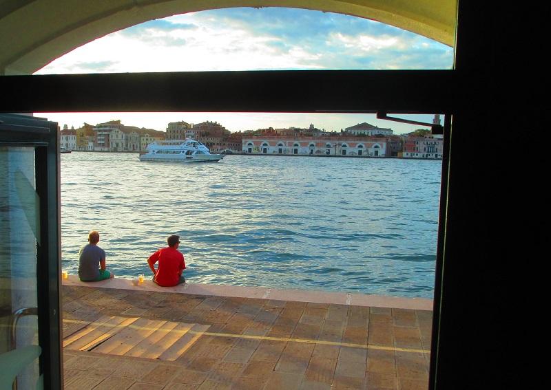 vista dall'ostello Generator Venezia