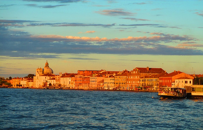 Tramonto a Venezia