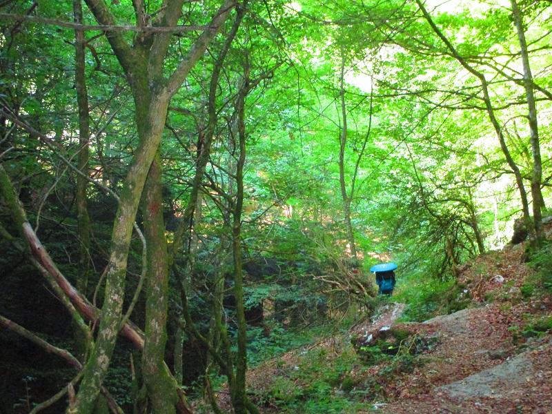 trekking sul monte cucco