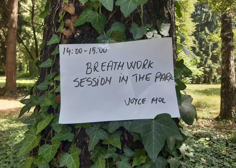 sessione breathwork al Bansko Nomad Fest
