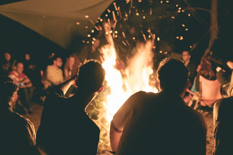 forest fire al bansko nomad fest